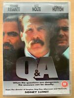 Q & A DVD 1990 Sidney Lumet Crooked Cop Corruption Thriller with Nick Nolte