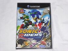 NEW Sonic Riders Nintendo GameCube SEALED ORIGINAL BLACK LABEL the hedgehog race