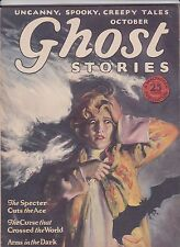 Ghost Stories October 1927 Pulp