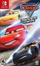 SWITCH - CARS 3: DRIVEN TO WIN BRAND NEW SEALED