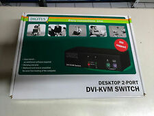 Digitus DS-11510 KVM switch per keyboard-video-mouse 2 porte PS2/DVI