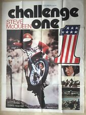 Challenge One (Affiche EO 1972) On Any Sunday Steve McQueen (FERRACCI)
