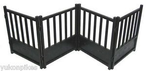 Free-Standing X-Wide Indoor Dog & Pet Expandable Metal Safety Gate - Black
