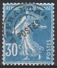 "FRANCE TIMBRE PREOBLITERE N° 60 "" SEMEUSE FOND PLEIN 30c BLEU "" NEUF xx TTB M284"