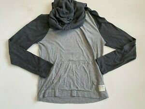 Abercrombie & Fitch Shirt Men's Small Hooded Gray