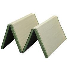Folding Japanese Mat Tatami Rectangle 200x90cm Carpet Foldable Floor Straw Mat