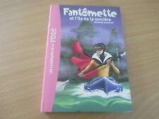 fantomette et l'ile de la sorciere - georges chaulet (bibliotheque rose)