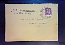 Germany 1934 SS Berengaria Cover (No Back Stamps) - Z1083