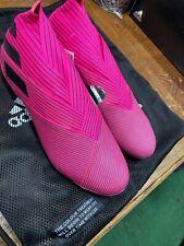 adidas Mens Nemeziz 19 FG Soccer Casual Cleats US Size 8.5 Pink