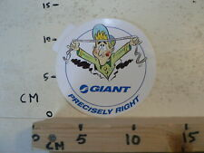 STICKER,DECAL GIANT PRECISELY RIGHT FIETSEN ? A