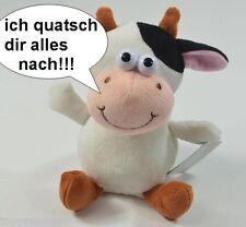 Laberkuh plappert alles nach, Lachen garantiert Laber Kuh Labertier Rind lustig