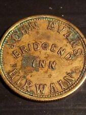 More details for welsh pub token bridgend inn hirwaun (united kingdom)