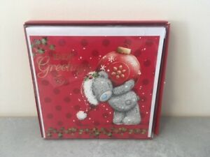 Me To You Xmas Cards Pack of 10 - 1 Design