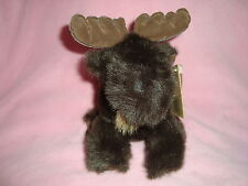"""Fancy Zoo Exclusively by A&A Co. 1998 Plush and Beans Moose 7"""""""
