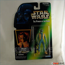 Star Wars Power of the Force Greedo crease