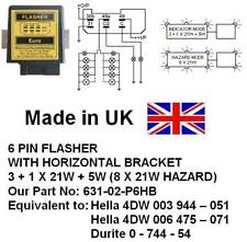 24V 6 PIN FLASHER, 4DW003944051, 4DW006475071, 0 744 54, 631-02-P6HB