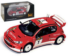 IXO RAM116 Peugeot 206 WRC Argentina Rally 2003 - M Gronholm 1/43 Scale