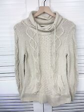 LL Bean Signature Fisherman Sweater Sz XS