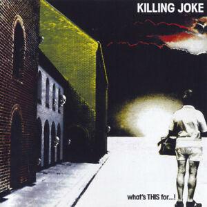 Killing Joke What's This For...! CD+Bonus Tracks NEW SEALED 2005 Remastered
