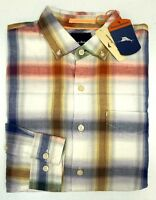 NWT $148 Tommy Bahama Long Sleeve Plaid Shirt Mens 1XB 2XB XLT 2XT 3XB 3XT NEW