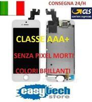 DISPLAY LCD TIANMA iPhone 5S Assemblato COMPLETO Fotocamera Frame Cassa BIANCO