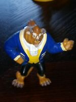 "DISNEY BEAUTY AND THE BEAST ADAM THE BEAST APPLAUSE 2.5"" PVC FIGURE"