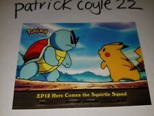 EP12 Here Comes the Squirtle Squad Pokemon Topps Card (Series 2)