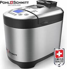 Pohl Schmitt Stainless Steel Bread Machine Bread Maker, 2LB (Stainless Steel)