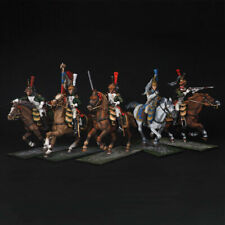Tin soldiers,  Dragons of the Imperial Guard, Fragment of 5 miniature, 54 mm