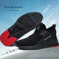 Men's Heavy Duty Sneaker Work Shoes Anti Slip Soft Breathable Shoes