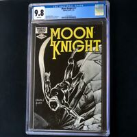 Moon Knight #17 * CGC 9.8 WHITE Pages * Bill Sienkiewicz Marvel Comic 1982