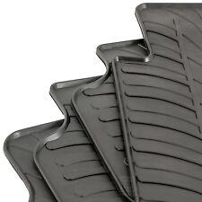 BMW X5 (F15) 2014 - 2018 Tailored Fit Rubber Black Moulded Car Floor Mats Set