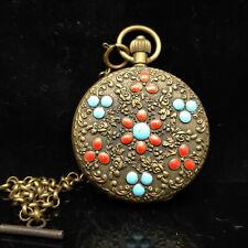 European Exquisite Classical Copper Carved  Exquisite Watch    S082