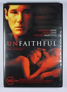 Unfaithful DVD FREE POST