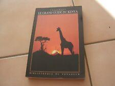 livre bibliotheque du voyageur   guide kenya Gallimard  (e2)