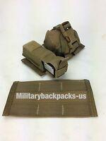 NEW USMC Military Coyote Brown Molle Standard Belt Adapter Ammo Mag Clip Pouch
