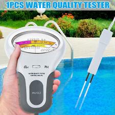Portable Digital Monitor Ph Water Tester Meter Analysis Pool Water Test Kit CA