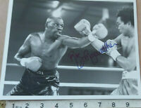 """RARE ROGER MAYWEATHER HAND SIGNED  PHOTO 10 X 8""""  & COA - OFFERS ACCEPTED"""