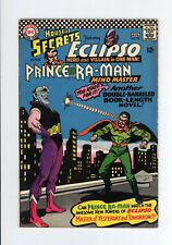 HOUSE OF SECRETS #79 - ECLIPSO & PRINCE RA-MAN COVER - 1966