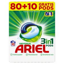 Ariel 3in1 Pods Regulär Waschmittel 30gr - 80+10 extra Waschladungen