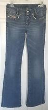 Ladies Womens Diesel LOUVELY 008LA Stretch Bootcut Blue Jeans W26 L34