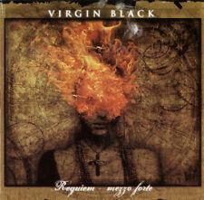 VIRGIN BLACK-REQUIEM-MEZZO FORTE-CD-novembre-gothic-devil doll-saviour machine