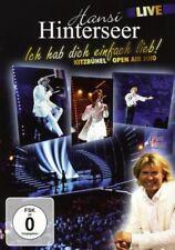 """HANSI HINTERSEER """"KITZBÜHL OPEN AIR 2010"""" DVD NEW!"""