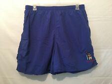 Big Dogs Mens Swim Trunks Blue Big Kahuna Size 1X