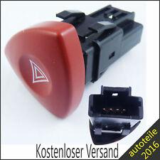 Warnblinkschalter Warnblinker Knopf für Renault Espace IV Laguna II 8200442724