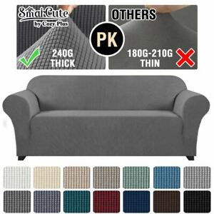 Form Fitted Stretch Couch Cover Sofa Cover Sofa Slip Covers Slipcovers More Size