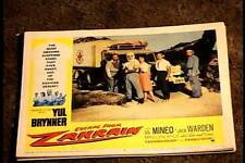 ESCAPE FROM ZAHRAIN 1962 LOBBY CARD #8 YUL BRYNNER