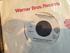 Michael Martin Murphy Face To Face With the Night & Rollin Nowhere 45 RPM