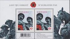 CANADA 2009 Souvenir Sheet #2341a Lest We Forget