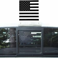 Rear Center Window Stickers Trim Decal for 09-14 Ford F150 USA Flag Accessories